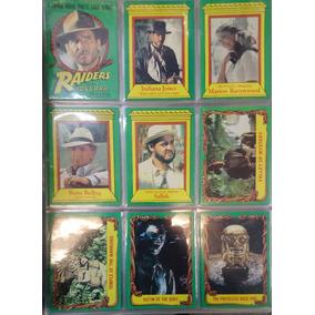 Indiana Jones Raiders L A Tarjetas Serie 1981 Completa 01-88 dc748d53b54
