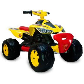 Quadriciclo Elétrico - 12v - Amarelo - Bandeirante