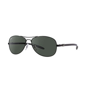 6d2565d1b3635 Ray-ban Rb 8301-002 Black Carbon Fibre Sunglasses With Cryst