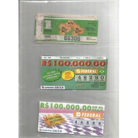 Brasil 1987/2016 - 120 Décimos De Bilhete Da Loteria Federal