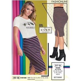 Vestido Cklass De Rayas - Faldas al mejor precio en Mercado Libre México 9c0e63b66dc2