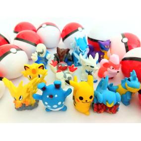 Pokémon Na Pokebola 35 Unid Lembrancinhas E Kit Festa
