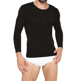 Camiseta Hombre Sin Costuras Cuello - Ropa y Accesorios en Mercado ... e23d9a6c677