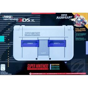 New 3ds Xl Super Nintendo Edition Novo Lacrado