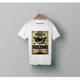 Camiseta Antifa - Laercio Lopo - Ideias Antifa - A8