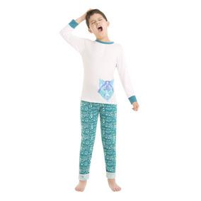 8293 Pijama Pantalon Niño Ilusion Algodon Playera Comoda