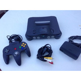 (25 Vrds) Nintendo 64 Consola + Control Lote