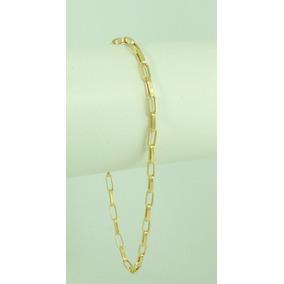 e3bdf27d023 Bracelete Masculina Aço Naval Mod. Cartier Ouro 18k 11141 - Joias e ...