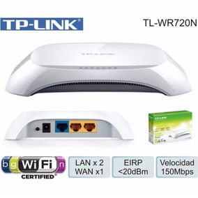 Router Tp Link Ti-wr720n Inalambrico Wifi 150mbps Red