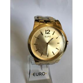 Relógio Euro Feminino Dourado Eu2035lvb/4d