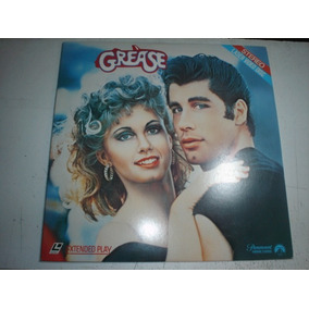 Ld Laserdisc Grease Tempos Brilhantina John Travolta Video