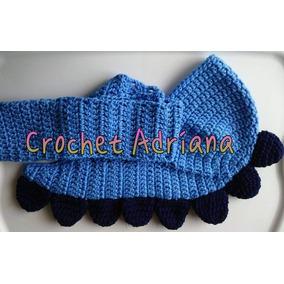Bufanda Gorro Dinosaurio Crochet