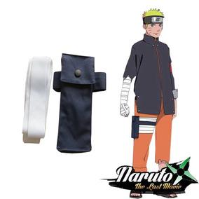 Porta Kunai + Faixa Branca Naruto, Naruto Cosplay