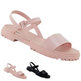 73b70033d8 Sandalia Plataforma Zaxy Popstar Flocada - Sapatos no Mercado Livre ...