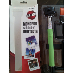 Monopod Bluetooth Selfie Stick Color Verde