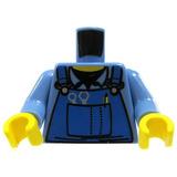 Lego Minifigure Piezas Camisa Del Mecanico Con Guardapolvo 9ce32e42c186e