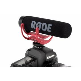 Microfone Rode Videomic Go Rycote Lyre Dsrl Sony Canon Nikon