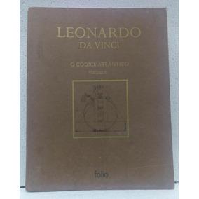 A Códice Atlântico Volume 8 Leonardo Da Vinci Editora Folio