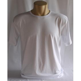 Camiseta Lisa Branca Fio 26.1 100% Malha Algodão 2ª Linha ... 6434c3e0d8b