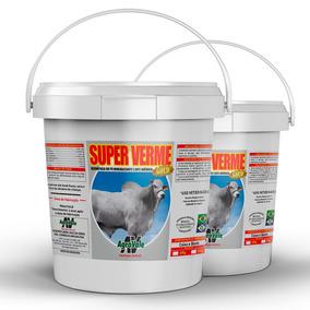 Suplemento Mineral Super Verme 10kg - Vermífugo, Antianêmico