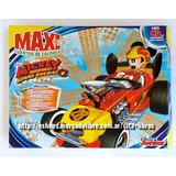 Colección Maxi Box 5 Libros Mickey Aventuras Sobre Ruedas Cd
