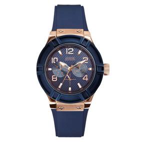 Libre En México Modelo W0056l2 Relojes Reloj Guess Mercado Leopardo xdrBWoCQe