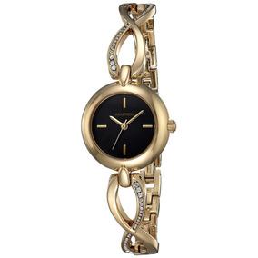 Reloj Mujer Armitron Nuevo Original Oro Dorado En Oferta! 46b38498e752