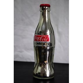 Garrafa Coca Cola Prateada 185ml