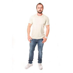 Camiseta Básica Sem Estampa Camisa Lisa T Shirt 100% Algodão