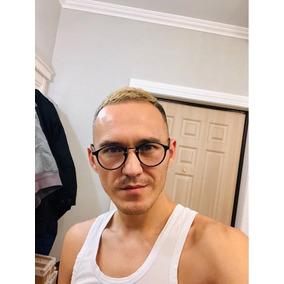 84239f0ea5cf9 Oculos De Grau Redondo Vintage Masculino Armacoes - Óculos no ...