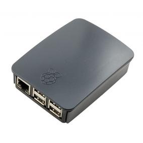 Case Raspberry Pi 3 Oficial Preta - Pronta Entrega!