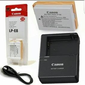 Kit 2 Baterias Cano Lp-e8 +carregador Lc-e8c