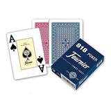 Mazo De Naipes O Cartas Para Poker Marca Fournier Mod. 818