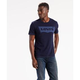 Camiseta Levi S Azul Marinho Tam P (small) - Camisetas e Blusas no ... 0422975ea2f