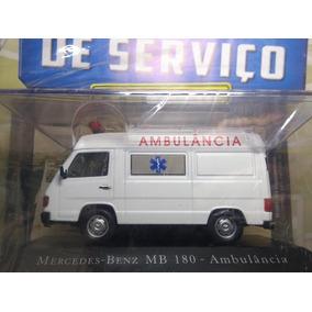 Miniatura Mercedes-benz Mb 180 - Ambulância