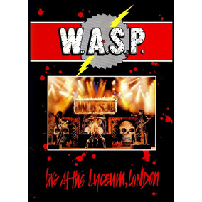 Dvd Wasp Live At Lyceum - London 1984