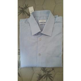Camisa Social Calvin Klein - Camisa Social Manga Longa Masculino no ... 57f133c04a