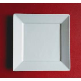 Platos De Postre Cuadrados Ceramica Blanca - Artículos de Bazar en ... f30821ccaefc