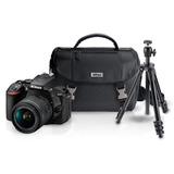 Kit Camara Digital Reflex Nikon D5600 + Tripie+ Estuche+ Sd