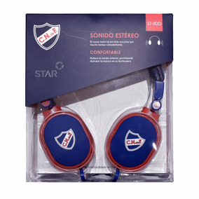 Auriculares Star St80d Club Nacional De Football
