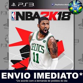 Jogo Nba 2k18 Ps3 Midia Digital Play 3 Envio Imediato