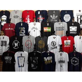 Kit 10 Atacado Camisas Camisetas Masculinas Oakley Mcd Lost 26684e9d9b2