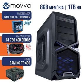 Cpu Gamer Mvx3 Intel I3 7100 3.9ghz 7ª Ger Memoria 8gb Hd 1t