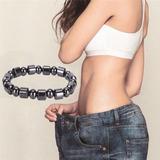 Bracelete Pulseira Magnética Terapia Emagrecer Perca De Peso
