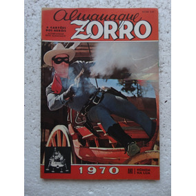 Almanaque Zorro 1970! Ebal! Sem Os Cartões Dos Heróis