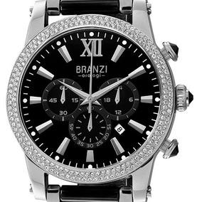 Reloj Branzi By Citizen 20809 Ceramica Acero Cristales
