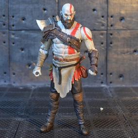 Figure Action Boneco Kratos God Of War 4 Articulado + Frete
