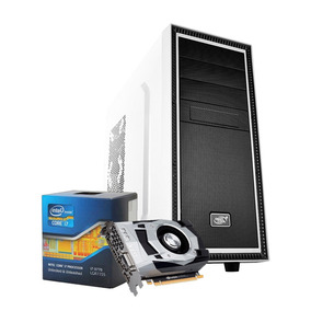 Pc Gamer I7, 16gb, 1tb, Geforce 4gb 1050 Gtx Ti, Fonte 610 W