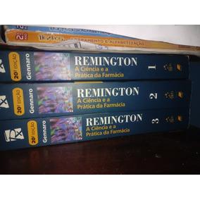 Coleção Remington Livros De Farmácia 3 Livros