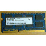 Ram 2 Gb Pc3-8500 2rx8 Ddr3 Portátil 2rx8 Pc3-8500s-7-10-f1